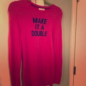 Lilly Pulitzer hot pink Sweater. Sz S. NWT